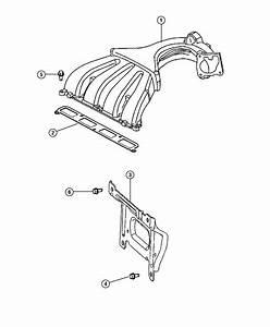 2009 Chrysler Pt Cruiser Bracket  Intake Manifold  Engine