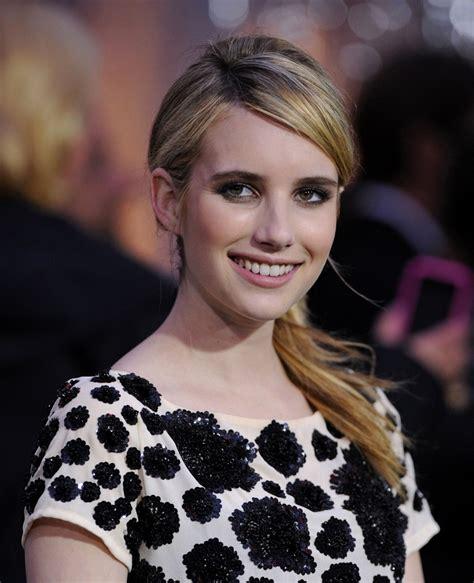 Emma Roberts Ponytail - Emma Roberts Hair Looks - StyleBistro