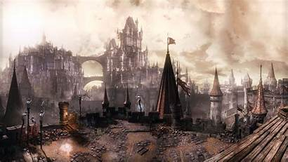 Souls Dark 4k Lothric Resolution Wall Iii
