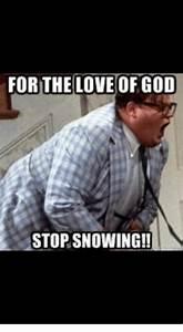 25+ Best Memes About Stop Snowing | Stop Snowing Memes