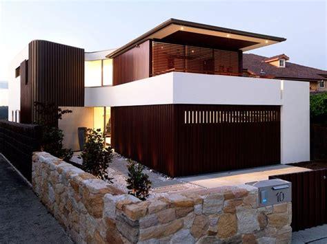 modern minimalist house fence design trend    home ideas