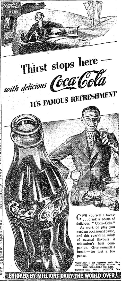 Pin on Early Coca Cola Ads
