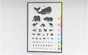 Poster Chambre Bébé : poster enfant echelle animaux poster chambre b b et enfant affiche d coration murale enfant ~ Teatrodelosmanantiales.com Idées de Décoration