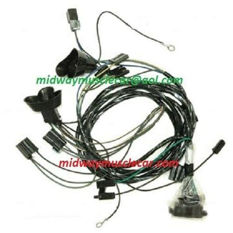Pontiac Gto Wiring Harnes by Front End Headlight L Wiring Harness 67 Pontiac Gto