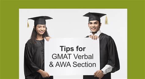 Tips For Gmat Verbal & Awa Section Urbanpro