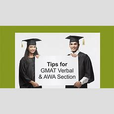 Tips For Gmat Verbal & Awa Section Urbanpro