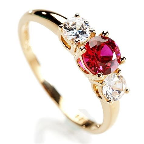 Scienza® Ruby Rosaré Ring w5513