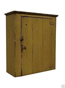 Farmhouse Wall Cabinet Primitive Painted Pine Furniture