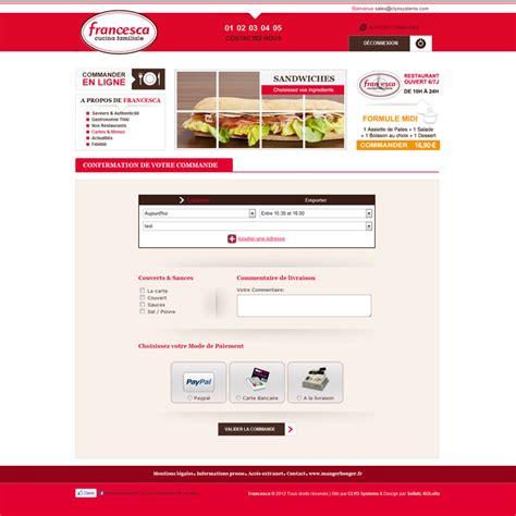 clyo systems cr 233 ation de site de vente en ligne pour la restauration rapide