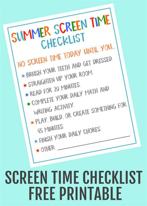 disney bedding summer screen checklist