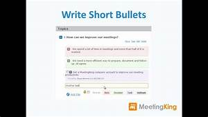 Minutes Template Microsoft Word Writing Meeting Minutes Easy And Fast With Meetingking