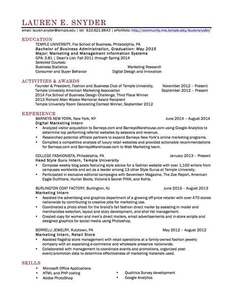 resume snyder