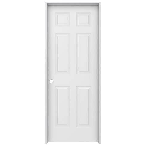 home depot jeld wen interior doors jeld wen 30 in x 80 in colonist primed right