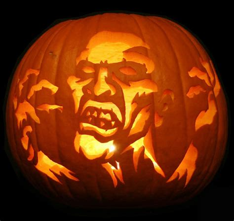 scary pumpkin carving 75 pumpkin carving ideas for inspirationseek