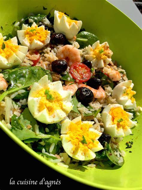 salade de riz au thon la cuisine d agn 232 sla cuisine d agn 232 s