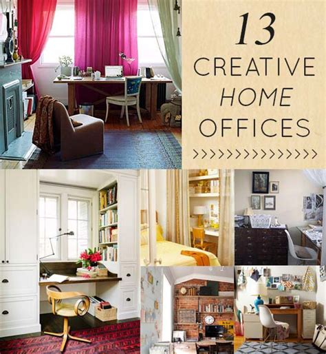 13 Creative + Clever Home Offices  Design*sponge