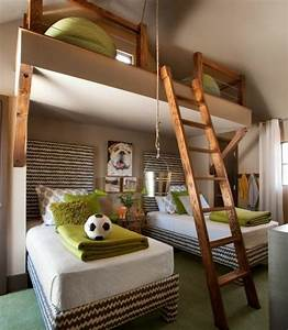 Betten Für Kinderzimmer : 125 gro artige ideen zur kinderzimmergestaltung kreative einrichtungsideen f r jungenzimmer ~ Eleganceandgraceweddings.com Haus und Dekorationen