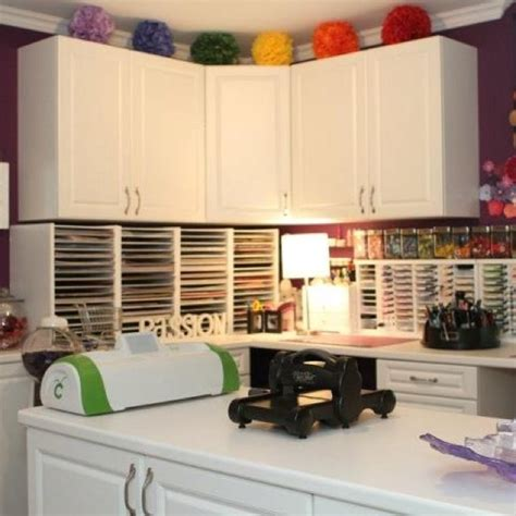 how to organize the kitchen cabinets scrapbooking craft room craft room ideas 8776
