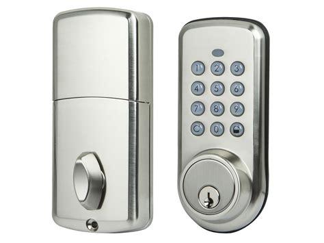 z wave door lock z wave electronic door lock 69 99 monoprice