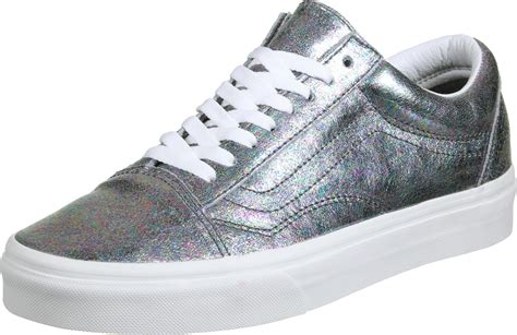 Vans Old Skool Hologram Pack Shoes Silver
