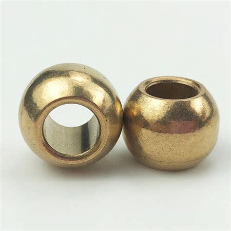cheap sintered spherical bronze motor shaft sleeve small electric motor bushing  bearing