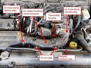 Jeep Jk 3 6l V6 Thermostat Housing Replacement