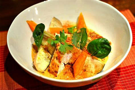 poulet au curry tha 239 au lait de coco la recette