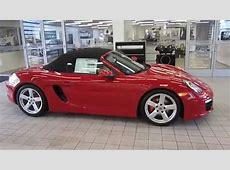 2016 Porsche Boxster, Carmine Red Metallic STOCK# 110878