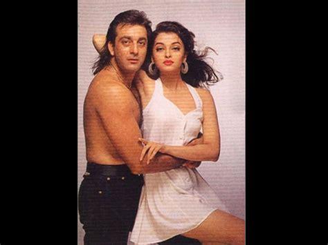 Sanjay Dutt Sanjay Dutt Hot Romantic Pics With Aishwarya Madhuri Urmila And Others Sanjay Dutt