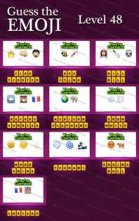 Guess the Emoji Answers and Cheats Level 25