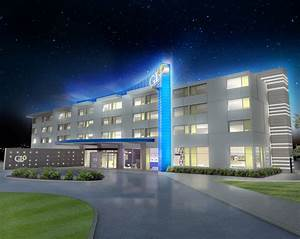 best western unveils glo a new suburban boutique brand With outdoor led lighting for hotels