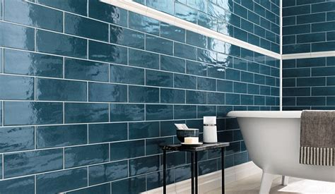 textures metallics glossy finishes tiles have never