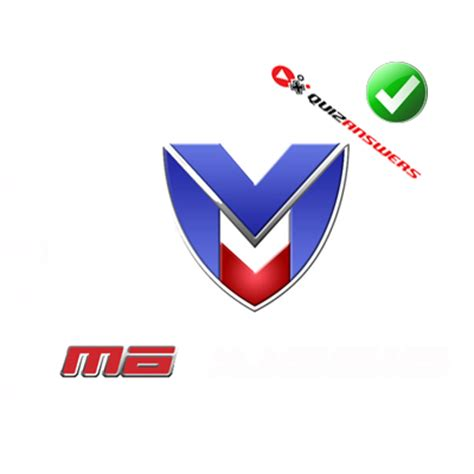 Car With M Logo by And Blue Car Logos