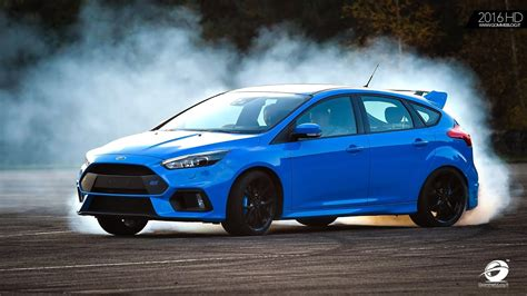 Drift Ford Focus by 2016 Ford Focus Rs Track Drift Mode Test On