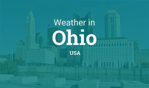 weather  ohio united states