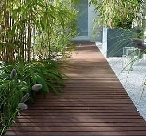 creer un chemin dans son jardin les bonnes idees de With delightful idee amenagement jardin de ville 15 bordures bois