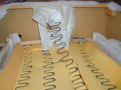 réparer canapé comment reparer ressort canapé la réponse est sur