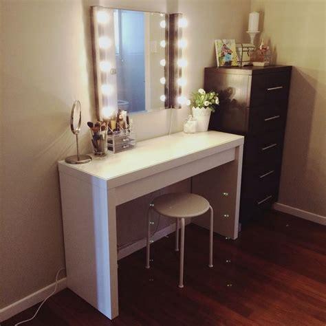 Diy Makeup Vanity Brilliant Setup For Your Room