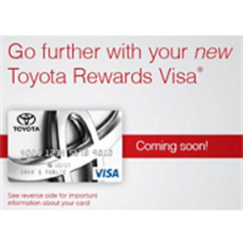 Toyota Rewards Visa by Toyota Lexus Visa Cards Will Be Issued By Comenity Bank