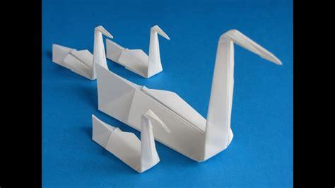 origami swan youtube