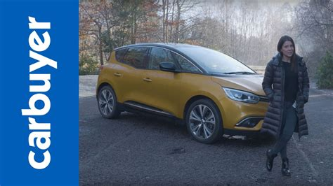 renault mpv 2017 renault scenic mpv 2017 review carbuyer youtube