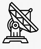 Satellites Clipartkey sketch template