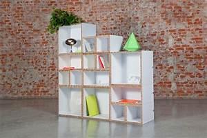 Fabriquer Une Bibliothèque Murale : meuble en carton 60 id es que vous pouvez r aliser vous m mes ~ Louise-bijoux.com Idées de Décoration