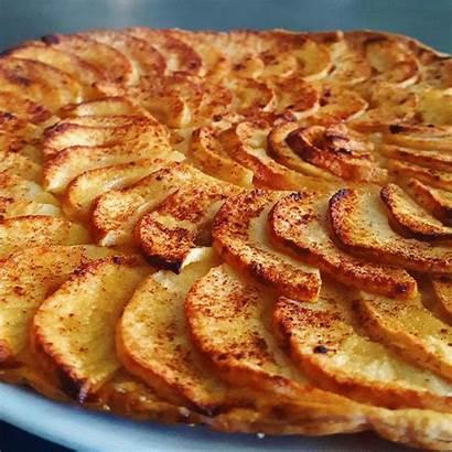 Tarte Aux Fine Pommes Recette Lacerisesurlemaillot Cerise