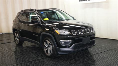 jeep compass 2018 black new 2018 jeep compass latitude sport utility in braintree