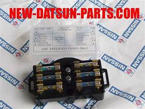 Wtb 1975 620 Truck Fuse Box - Datsun Parts Wanted