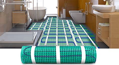 electric heated tile flooring systems warmlyyours