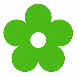Green Flower | Free Images at Clker.com - vector clip art ...