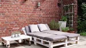 gartenmobel aus paletten youtube With whirlpool garten mit balkon lounge sofa