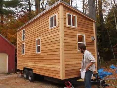 house trailer sherwood tiny house on a trailer